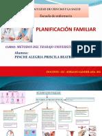 PLANIFICACIÓN FAMILIAR   DIAPOSITIVAS