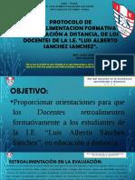 Protocolo de Retroalimentacion Formativa Remota-2020