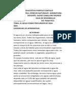ALEXIS GUIA # 3 CLEI 301 - 304