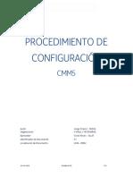 Procedimiento de Configuracion CMM5_190918