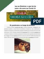 Pandemias na História
