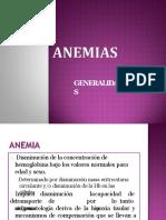ANEMIAS- CLASE- SEMIO