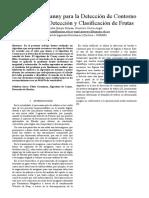Algoritmo de Canny Para La Detección de Contorno Aplicado a La Detección y Clasificación de Fruta123
