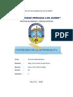 D° Administrativo 1