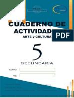 Cuaderno Arte y cultura 5 sec