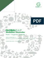 GLOBALGAP-PARTIE 1-EXIGENCES GENERALES