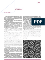 Géométries urbaines. Article paru dans le numéro de janvier 2011 de la revue Quadrature