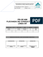 PR-OE-008-PROCEDIMIENTO DE FLECHADO DE CONDUCTORES EN LÍNEA MT