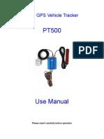 Manual of PT500
