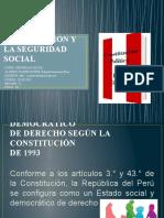 LA CONSTITUCIÓN Y LA SEGURIDAD SOCIAL