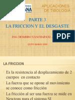 3.- LA FRICCION