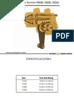 MANUAL DE SERVICIO DIRECCIÓN TAS40 TAS50 TAS65