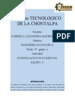 INVESTIGACION DOCUMENTAL DE LOS SUBTEMAS DEL TEMA 4. EQUIPO 5