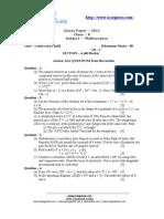 Maths Guess Paper
