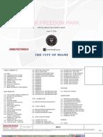 Miami Freedom Park special area plan