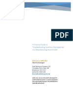 Practical Guide to Troubleshooting Inventory Discrepancies in a Manufacturing Environment
