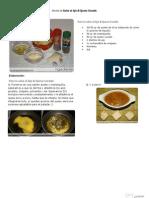V.imprimible de Salsa Al Ajo & Queso Curado