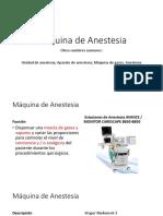 Clase Anestesia y Ventiladores