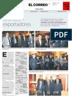 Grandes exportadores. Premio de la Cámara de Comercio a la internacionalización para Lantek