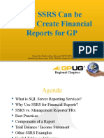 How_SQL_Reporting_Services_Can_be_Used_to_Create_Financial_Reports_for_GP - Nashville GPUG