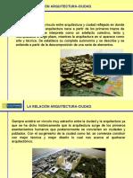 1.1 La relación arquitectura-ciudad..ppt