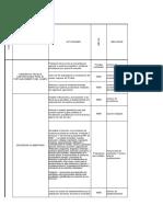 PLAN DE ACCION ESPECIFICO - AMBIENTE Y AGRICULTURA -