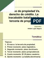 26 Derecho de propiedad Vs derecho de crédito