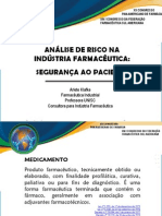 Analise de Risco Na Industria Farmaceutica Seguranca Ao Paciente