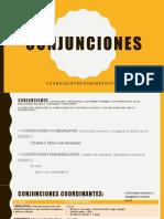 Presentacion de Conjunciones
