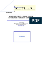 CAIS 7-17 Which Life Cycle - Work System, Is, Or Software