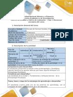 Guia de actividades y rùbrica de evaluaciòn - Fase 1- Reconocer los conceptos del curso