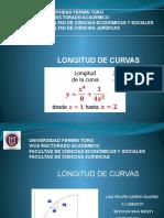 LONGITUD DE CURVAS