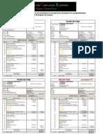 Simulation d'une paie avec déclaration et comptabilisation