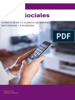 Mini manual para la creación de Redes Sociales de empresa