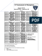 2008 ISC II ToC Schedule by PoolB