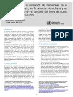 Utilización de mascarillas en el entorno comunitario, en la atención domiciliaria y en centros de salud en el contexto del brote de nuevo coronavirus (2019-nCoV).pdf