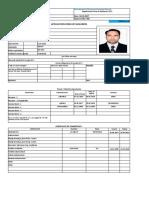 Form No- 02 Application Form