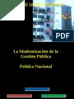 modernizacion de la gestion publica