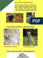 PUNTOS DE CONTROL TOPOGRAFICOS C1