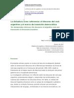 La dictadura como referencia el discurso del rock argentino y el marco de transición democrática