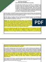 Sección Segunda Reglamento de Prestación de Servicios AyA