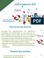 Sacar Backup de Base de Datos y restaurarla