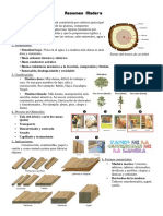 Resumen madera y metales