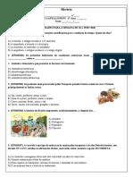 História-Atividade diagnóstica-6º ano