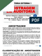 AMOSTRAGEM EM AUDITORIA chigona