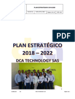 PLAN ESTRATÉGICO 2018 - 2022