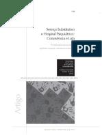 Serviço Substitutivo e Hospital Psiquiátrico - Convivência e Luta