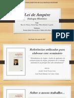 SEMINÁRIO - LEI DE AMPÈRE_ENFOQUE HISTÓRICO