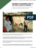 El Mapa de La Marginalidad y La Desigualdad Social_ Así Se Distribuyen Los Pobres Crónicos en Argentina - Infobae