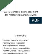 1Les fondements du MRH